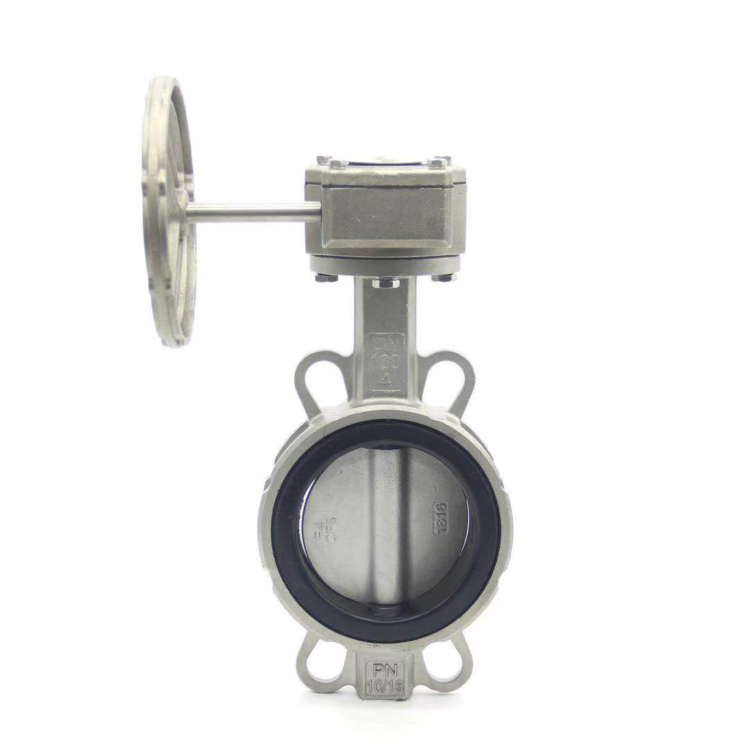 承德Stainless steel wafer butterfly valve